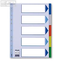 Artikelbild: Kunststoff-Blanko-Register DIN A4