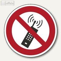 Artikelbild: Verbotsschildfolie - Mobilfunk verboten