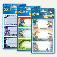 Artikelbild: Z-Design Buchetiketten mit Motiven