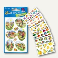Artikelbild: ZDesign Oster-Sticker Sortiment