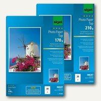 Artikelbild: Fotopapiere Top für Inkjet Drucker