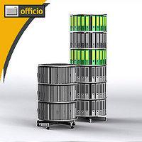 Artikelbild: Ordnersäule Rotafile 80 COMPACT für DIN A4 Ordner