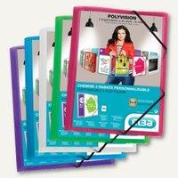 Artikelbild: Eckspannmappen Polyvision DIN A4
