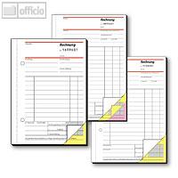 Artikelbild: Rechnungsbücher mit fortlaufender Nummerierung