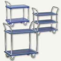 Artikelbild: Etagenwagen - Kunststoff- / Stahlplattform
