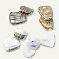 Artikelbild: Gas- und Kombifilter / Partikelfilter für Atemschutzmasken Serie 6000/7000
