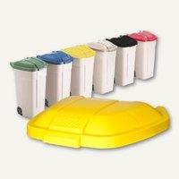 Artikelbild: Klappdeckel für Abfall-Rollcontainer / 100 Liter
