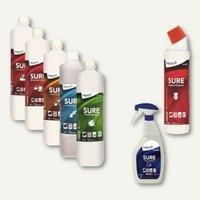 Artikelbild: Umweltschonende Reinigungsmittel der Serie SURE - 100% biologisch abbaubar