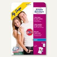 Artikelbild: Avery Zweckform T-Shirt-Folien für helle & dunkle Textilien