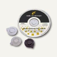 Artikelbild: CD Befestigungs-Clips aus Kunststoff