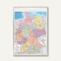 Artikelbild: Deutschlandkarte Postleitzahlen