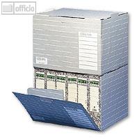 elba tric unibox archivbox f r din a4 ordner stapelbar grau wei 83426 b roartikel bei. Black Bedroom Furniture Sets. Home Design Ideas
