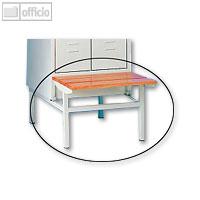 Artikelbild: Sitzbank für 2-türigen Stahl-Reihenspind