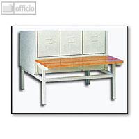 Artikelbild: Sitzbank für 3-türigen Stahl-Reihenspind