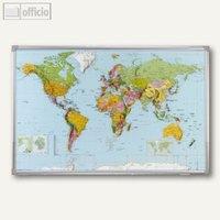 Artikelbild: Weltkartentafel politisch