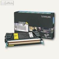 Artikelbild: C524 Rückgabe-Toner gelb - ca. 5.000 Seiten