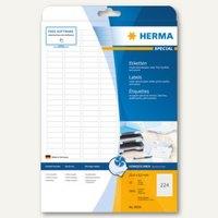 Artikelbild: Inkjet-Etiketten A4 - 25.4 x 8.5 mm