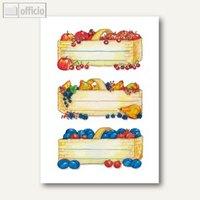 Artikelbild: Küchenetiketten Obstkörbe