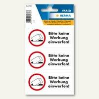 Artikelbild: Hinweisetiketten Bitte keine Werbung einwerfen