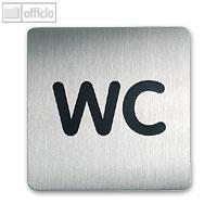 Artikelbild: quadratisches Piktogramm WC
