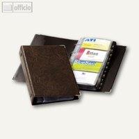Artikelbild: VISIFX Visitenkartenringbuch für 200 Visitenkarten