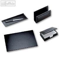 Artikelbild: Modena Schreibtischgarnitur aus glattem Leder