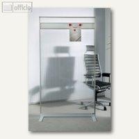 Artikelbild: Raumteiler/Viren-Schutzwand mit Acryl-Oberfläche u. Magnetleiste