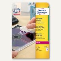 Artikelbild: Avery Zweckform Sicherheits-Etiketten