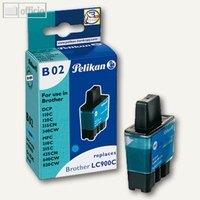 Artikelbild: Tintenpatrone B02 cyan für Brother DCP-110C kompatibel zu LC900C