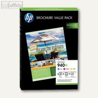 Artikelbild: Broschure Value Pack Nr. 940XL - 3 Patronen CMY + 100 Blatt Papier