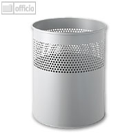 Artikelbild: Metall-Papierkorb mit Lochdekor