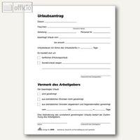 Artikelbild: Urlaubsantrag-Block Formular