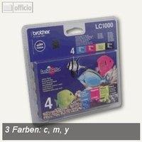 Artikelbild: Tintenpatronen LC1000 Multipack