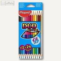 Artikelbild: Dreikantbuntstifte Color'Peps Duo Maxi