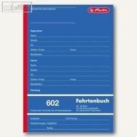 Artikelbild: Formularbuch Fahrtenbuch 602
