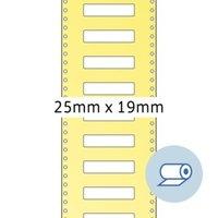 Artikelbild: Rollenetiketten - 25 x 19 mm