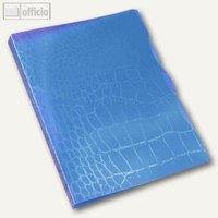 Artikelbild: Ringbuch Trend Kroko A4