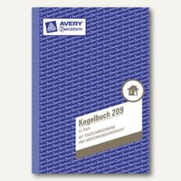 Artikelbild: Formular Kegelbuch DIN A5