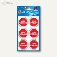 Artikelbild: Hinweis-Etiketten Keine Werbung...