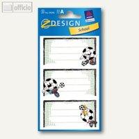 Artikelbild: Z-Design Buchetiketten Fußballtor