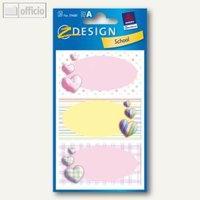 Artikelbild: Z-Design Buchetiketten Herzen