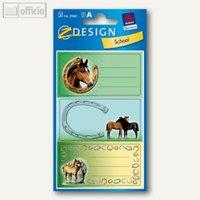 Artikelbild: Z-Design Buchetiketten Pferde