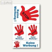 Artikelbild: Hinweis-Etiketten STOP-Keine Werbung!