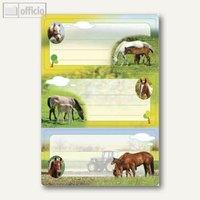 Artikelbild: Buchetiketten Vario Pferde