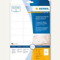 Artikelbild: Transparente Folien-Etiketten