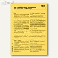 Artikelbild: ADAC-Kaufvertrag f. Privat-Verkauf v. Kraftfahrzeugen