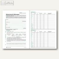 Artikelbild: Mietbuch Wohnung mit Mietvertrag & -quittungen