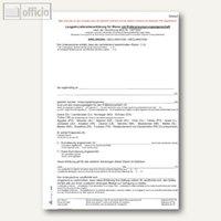 Artikelbild: Lieferantenerklärung Form II mit Präferenzursprung -1207-