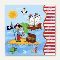 Artikelbild: Dekorservietten Pirate Island