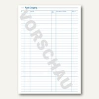 Artikelbild: Formularbuch Posteingangs-/Ausgangsbuch